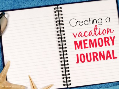 Vacation Memory Journal