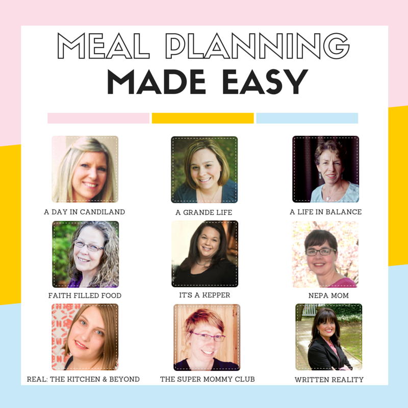 meal planning weekly