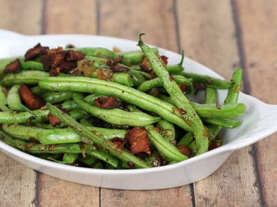 Bacon Glazed Green Beans