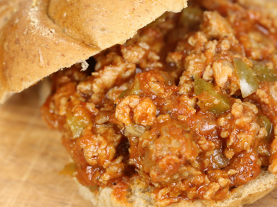 Sausage and Pepper Sloppy Joes