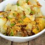 Slow Cooker Bacon Ranch Potatoes