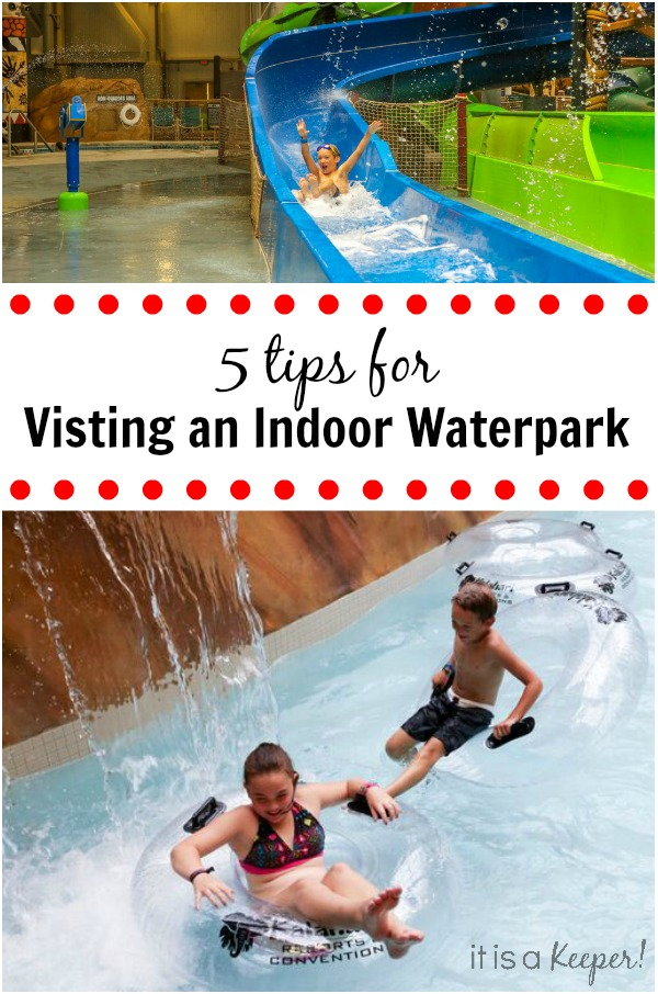 5 Tips for Visiting an Indoor Waterpark - these will help make your trip more enjoyable