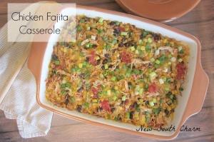Chicken-Fajita-Casserole