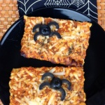 Easy Spider Pizzas