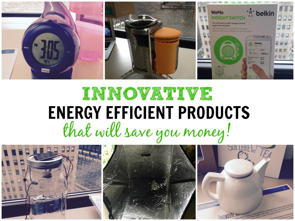 Innovative Energy Efficient products that will save you money