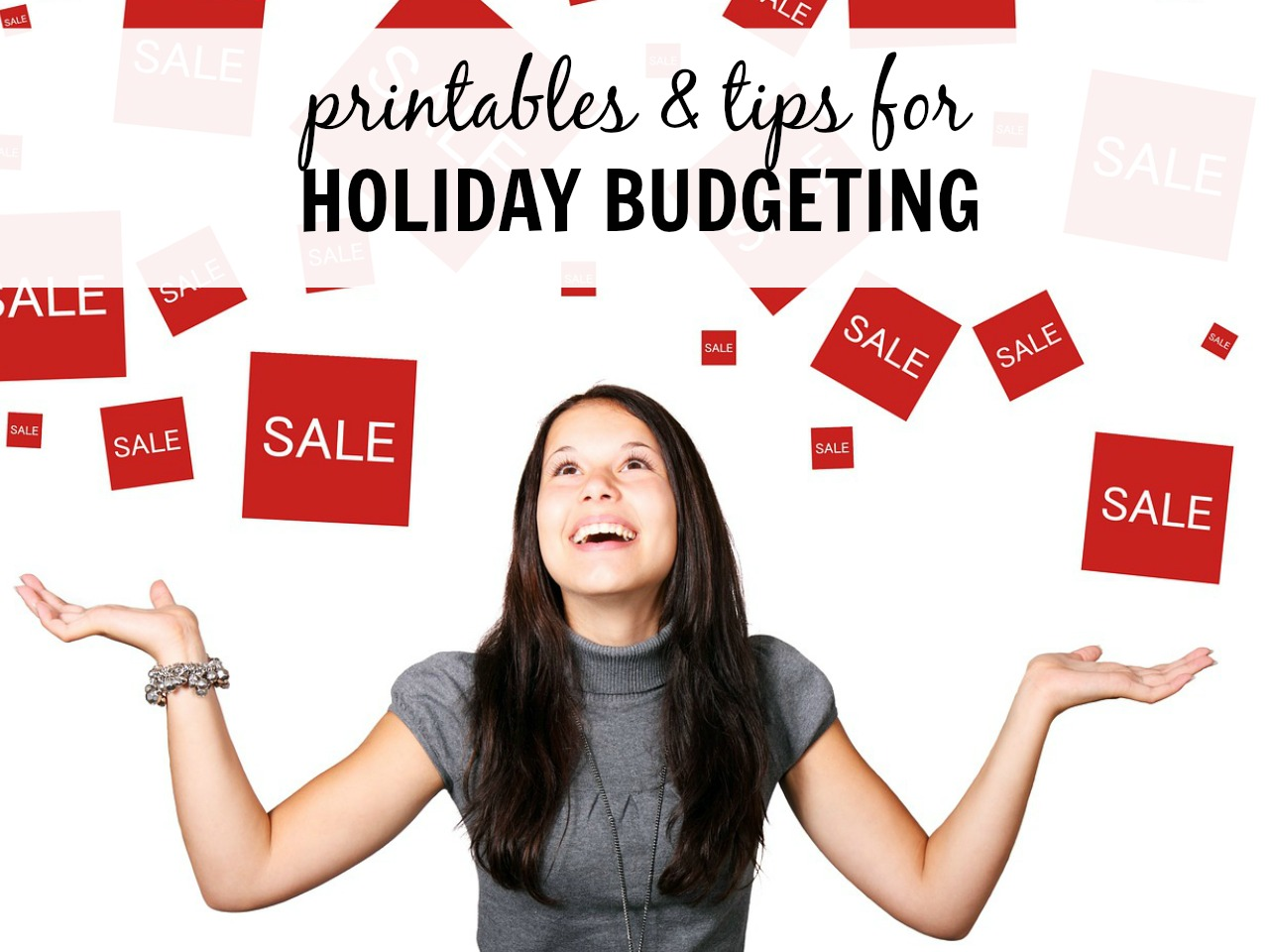 Printables and tips to keep you on track during the holidays