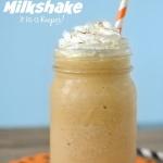 Pumpkin Pie Milkshake | It Is A Keeper