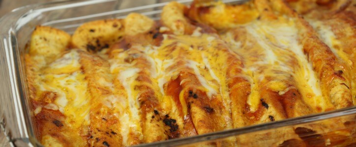Chicken Enchilada Recipe – an easy and delicious make ahead or freezer meal