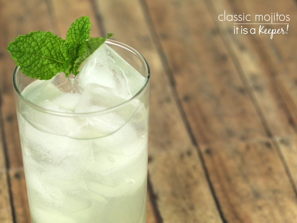 Classic Mojito Recipe – an easy and delicious simple cocktail recipe