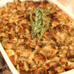 This is my family's favorite easy turkey stuffing recipe.  It's easy to make and my family has been making it for years.   It's definitely one of the best Thanksgiving recipes ever.
