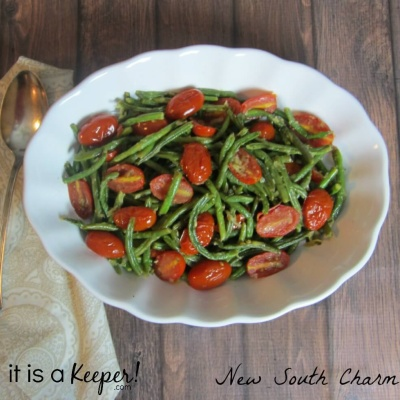 Italian Green Beans Recipe – an easy and delicious side dish vegetable