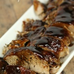 Slow Cooker Balsamic Glazed Pork