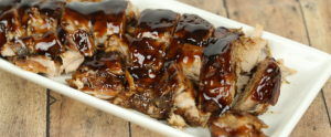 Slow Cooker Balsamic Glazed Pork Loin – one of my favorite easy crock pot recipes