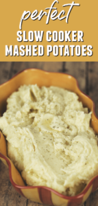 easy crock pot mashed potatoes