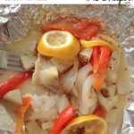 Easy to throw together and with no mess these Spicy Lemon Foil Fish Dinners are perfect for busy weeknights and completely customizable for picky eaters.