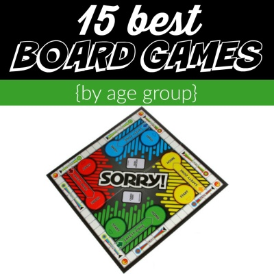 15 Best Board Games by age group for family game night