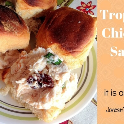 Use up leftover chicken (or turkey) and make Tropical Chicken Salad. Toss in some tropical fruits and macadamia nuts for a twist on the usual chicken salad sandwiches.
