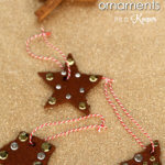 Cinnamon Ornaments – an easy Christmas craft for kids that has only 3 ingredients