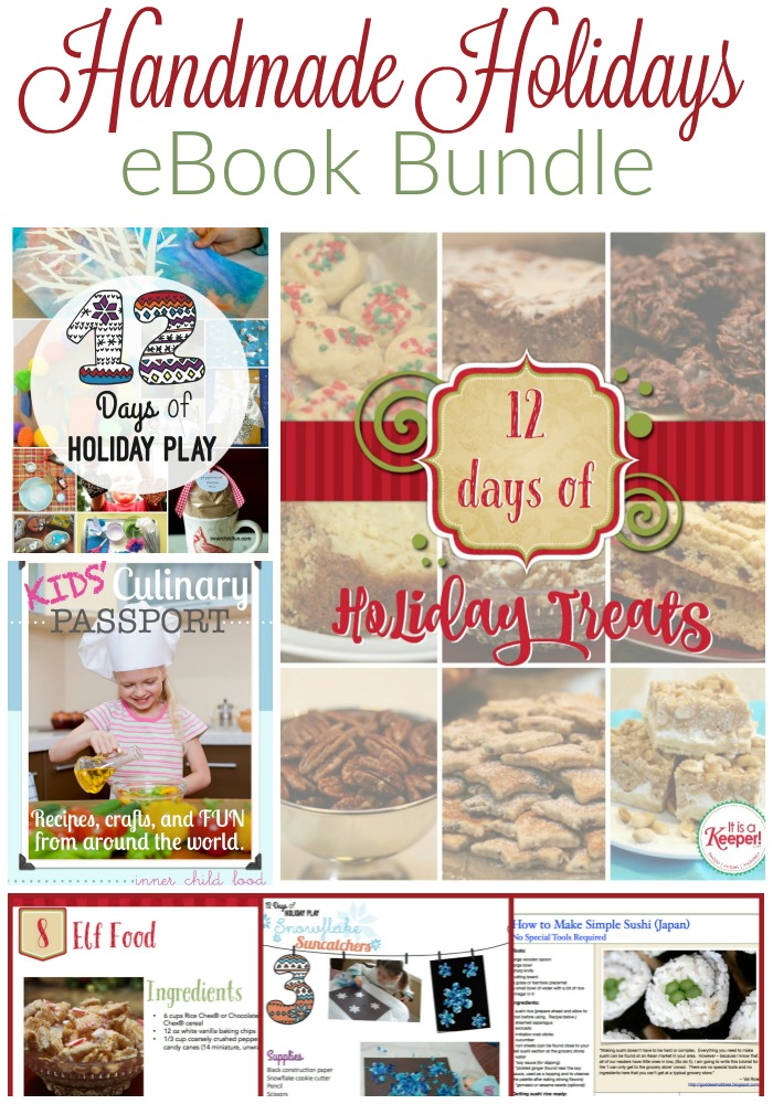 Handmade Holidays eBook Bundle -- 3 great ebooks for 1 great price!