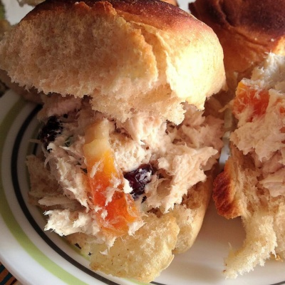 Tropical Chicken Salad Sandwiches