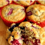 Berry Morning Muffins H