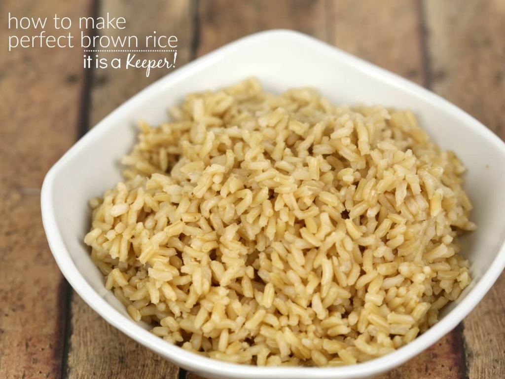 How to Make Perfect Brown Rice – This is my fool proof recipe for making perfect brown rice on the stove top
