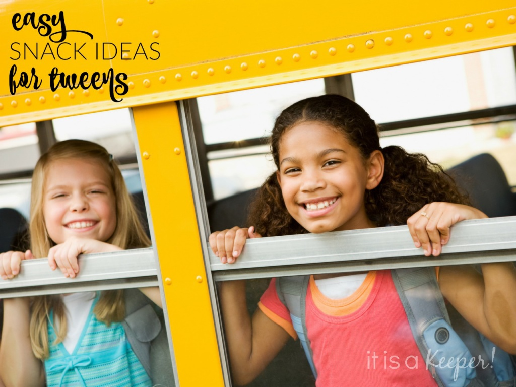 Easy Snack Ideas for Tweens