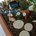 This is a great tutorial for creating a Fairy Garden