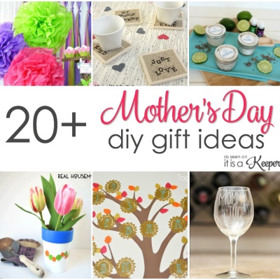 20 Easy Homemade Mother's Day Gifts