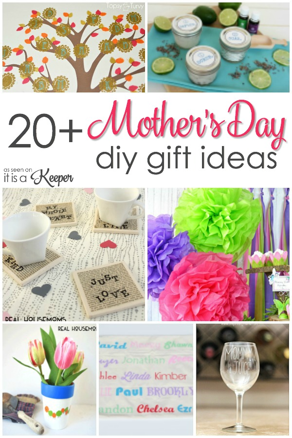 20 Easy Homemade Mother's Day Gifts | It Is a Keeper