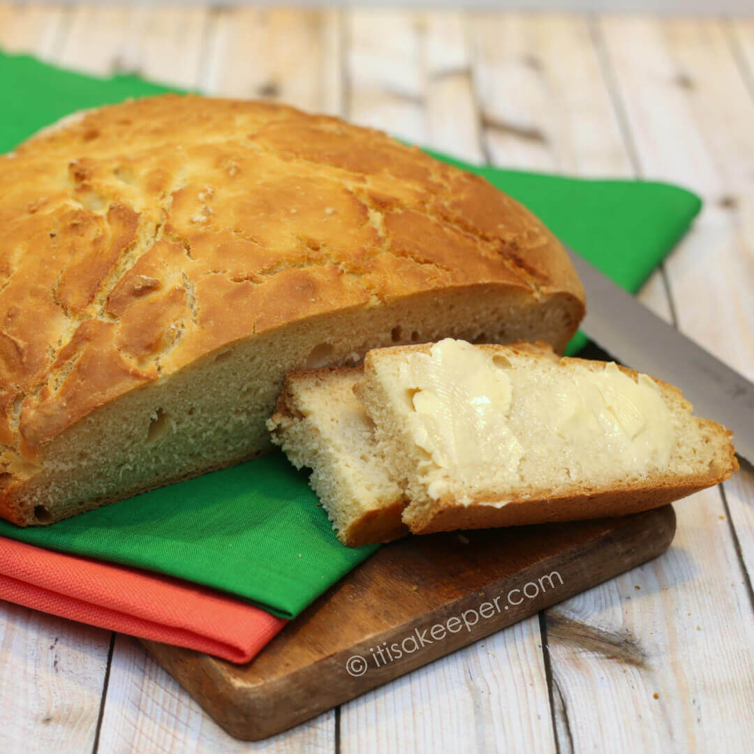 Irish Soda Bread - this easy bread recipe is perfect for St Patricks Day
