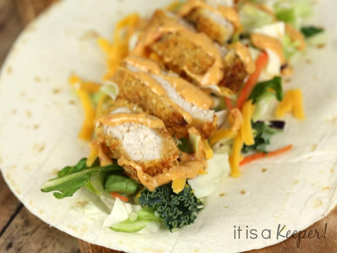 Southwest Chicken Wrap Recipe
