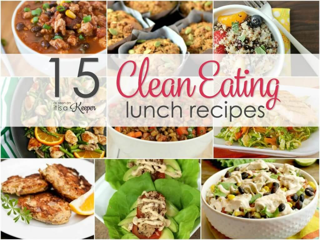 15 Clean Eating Lunch Recipes