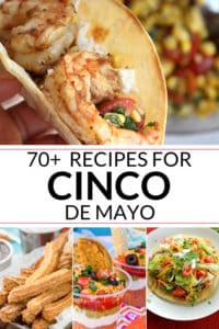 Collection of Cinco de Mayo Food