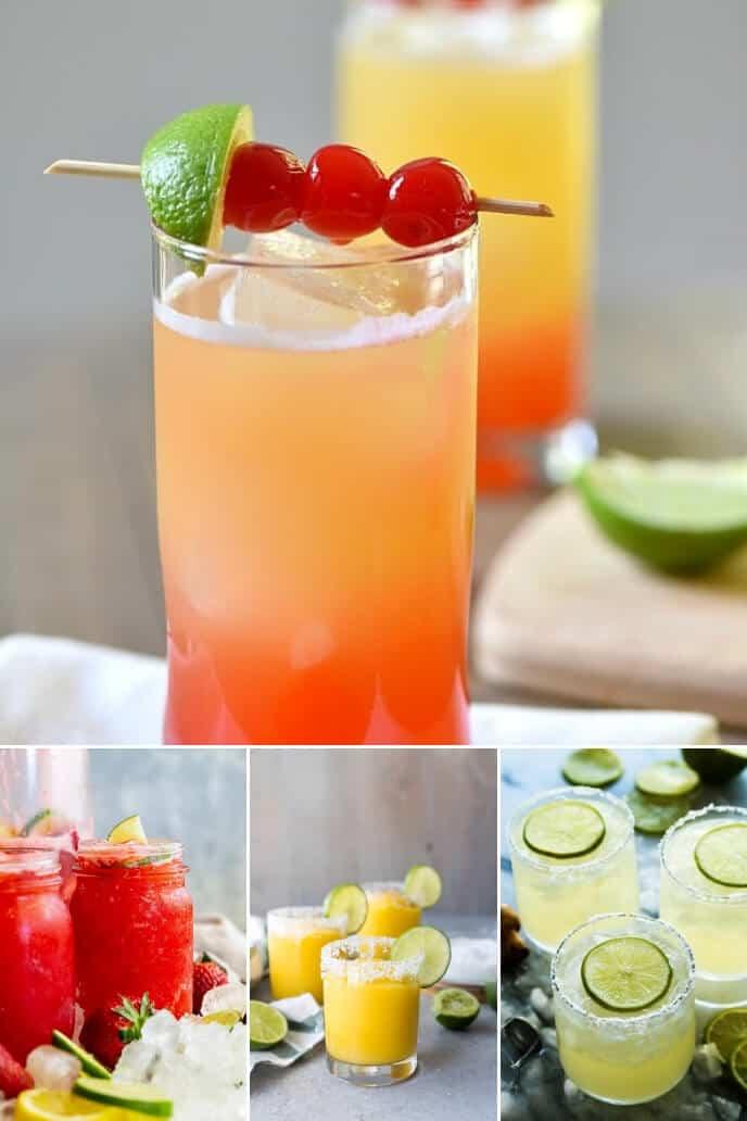 Collection of Cinco de Mayo drinks