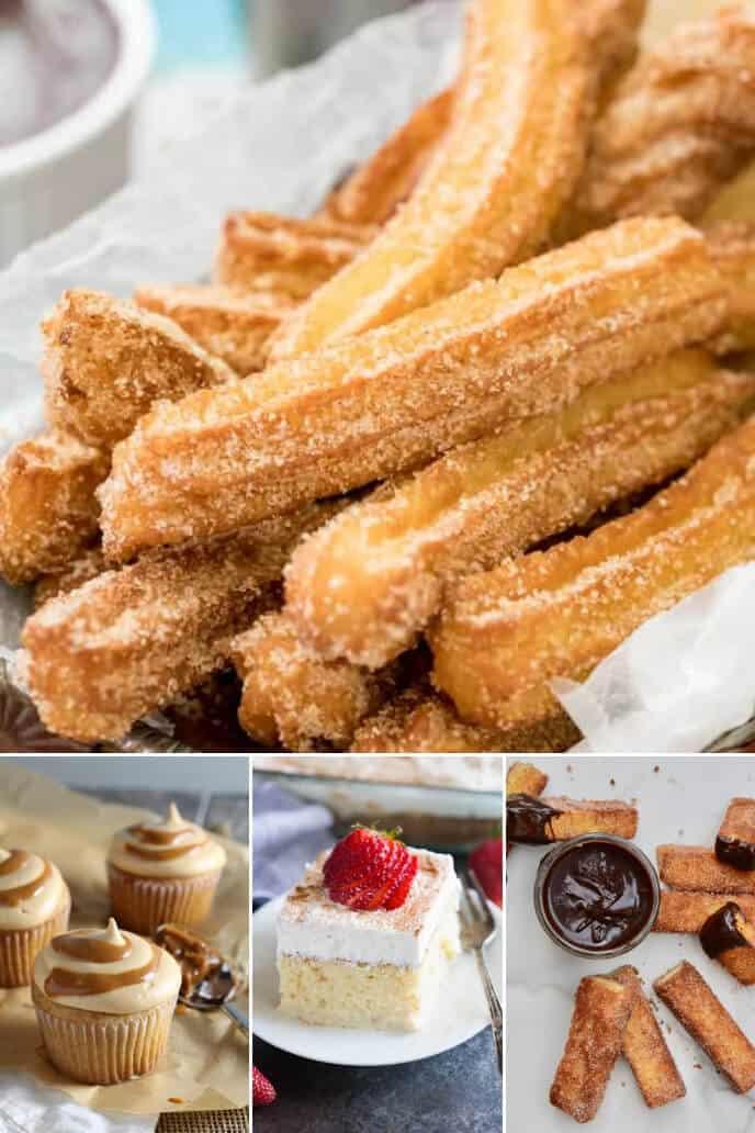 Collection of Cinco de Mayo desserts