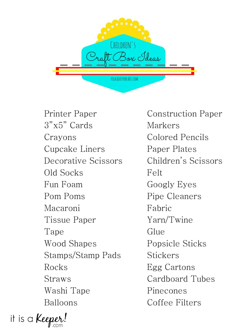 Need a boredom buster? Keep the kids busy this summer with these Children's Craft Box Ideas