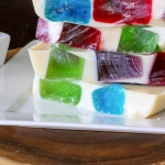 This Mosaic Jello is a fun kid friendly snack idea