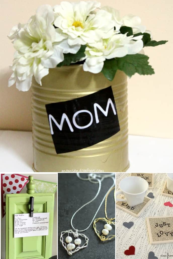 collection of Mothers Day Gift Ideas DIY