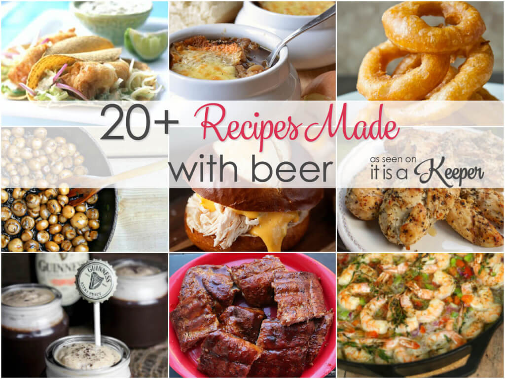 20 of the best recipes made with beer