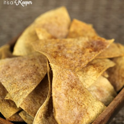 Easy Cinnamon Crisps