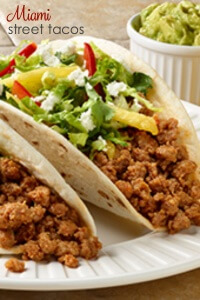 Miami Street Tacos - this quick and easy taco recipe is full of flavor and ready in no time