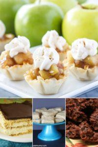 an awesome list of scrumptious no bake cookies recipes