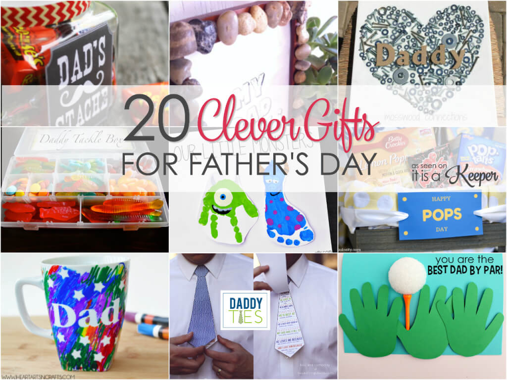 Show dad how much you love him with these clever Father's Day gift ideas