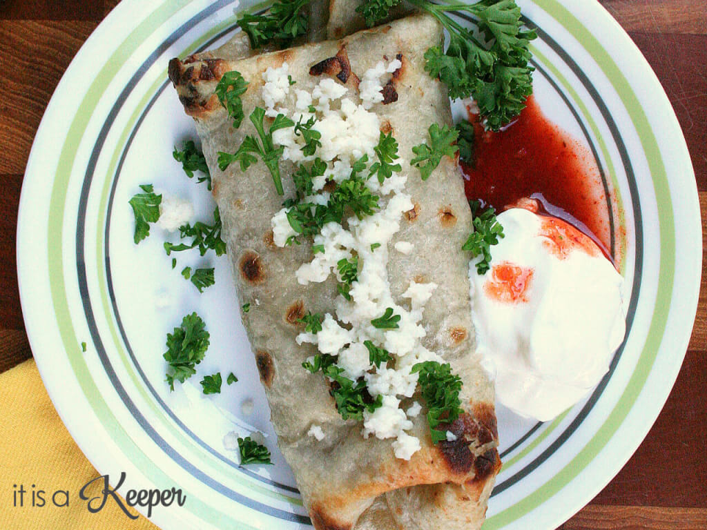Baked Chimichangas-this easy Mexican recipe will have your family begging for more