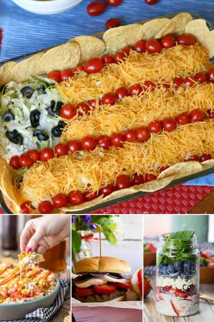 Collection of 4th of July Food Recipes