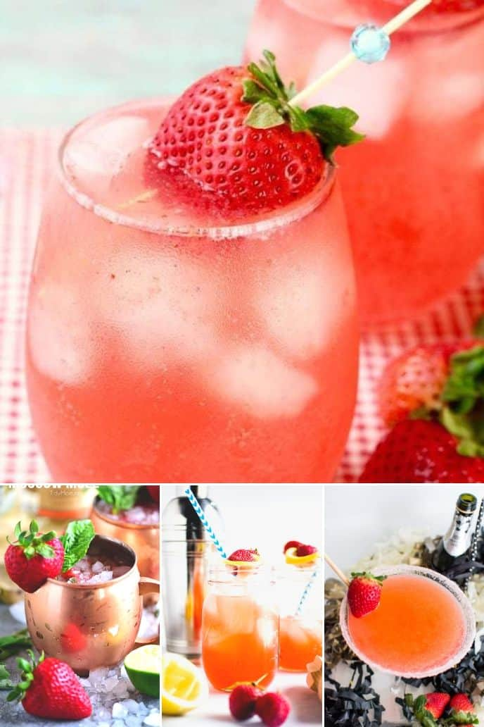 Collection of Strawberry Cocktail Recipes