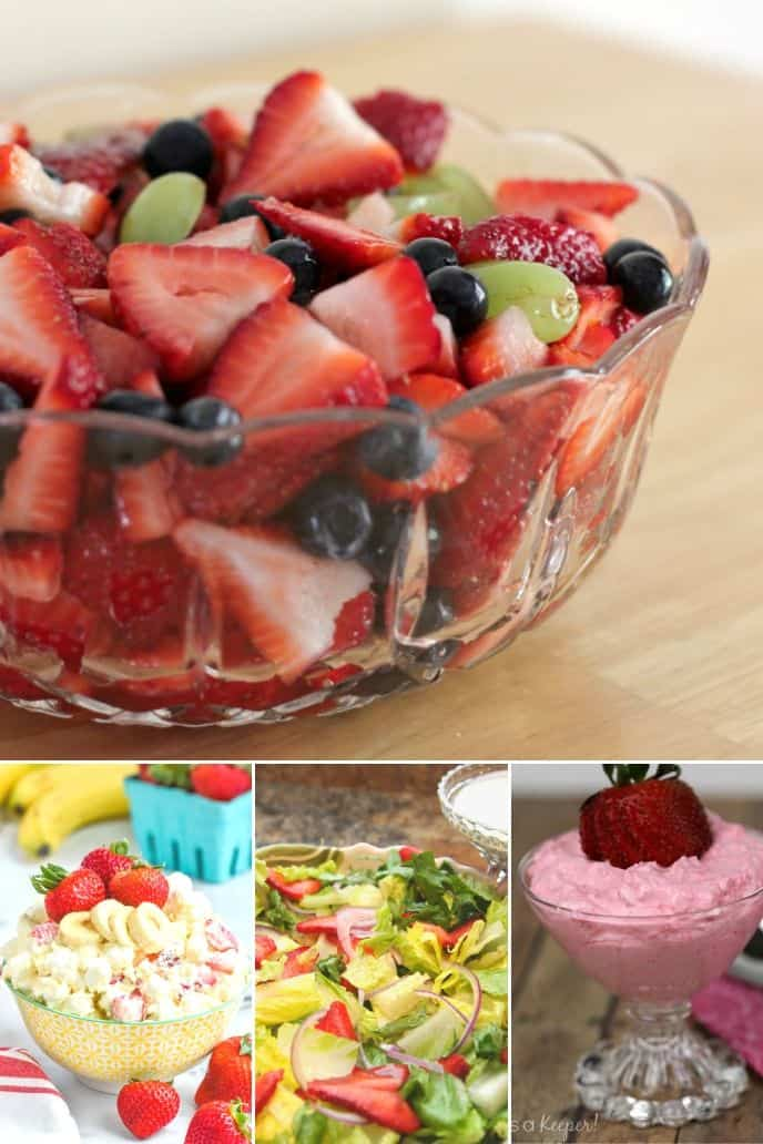 Collection of Strawberry Salad Recipes