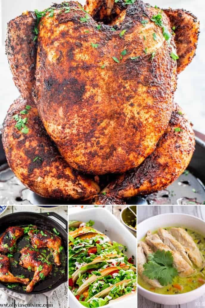 Collection of beer recipes for chicken