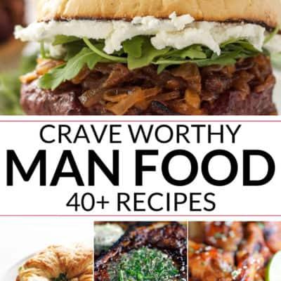 Crave worthy man food